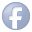 social facebook button blue 32